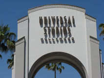 Universal Studios. Hollywood, Los Angeles Royalty Free Stock Photography