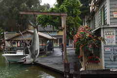 Universal Studios Hollywood in Los Angeles, California, USA. April 2016. Royalty Free Stock Photos