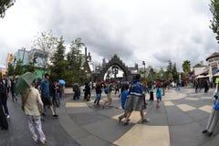 Universal Studios Hollywood in Los Angeles, California, USA. April 2016. Royalty Free Stock Photo