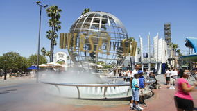 Universal Studios Hollywood Los Angeles California Usa North America time lapse stock video