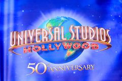Universal Studios Hollywood Park, Los Angeles, USA stockbilder