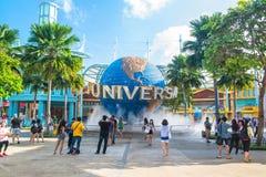 Universal Studios on January 26, 2014 in Sentosa island, Singapore Stock Photos