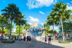 Universal Studios on January 26, 2014 in Sentosa island, Singapore Royalty Free Stock Images