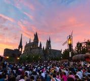 Universal Studios Japan (USJ).  located in Osaka. OSAKA, JAPAN - Aug 26, 2017: Universal Studios Japan (USJ).  located in Osaka, is one of four Universal Studios royalty free stock images