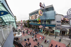 Universal Studios Orlando - City Walk Royalty Free Stock Photo