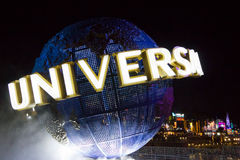Universal Studios-Parkeingang lizenzfreies stockbild