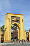 Universal Studios Resort entrance Royalty Free Stock Photography