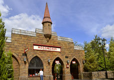Universal Studios Resort Hogsmeade train station. Hogsmeade train station for Harry Potter Hogwarts Express Royalty Free Stock Image