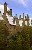 Universal Studios Resort Hogsmeade Village Rooftops. The Wizarding World of Harry Potter Royalty Free Stock Photo