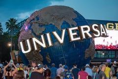 Universal Studios sfär på Citywalk i universellt boulevardområde 1 royaltyfri bild