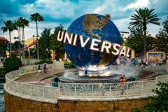 Universal Studios sfär på Citywalk i universellt boulevardområde 3 royaltyfria foton