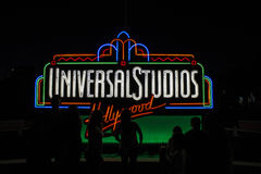 Universal Studios Sign Stock Images