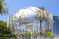 Universal Studios Sign Seen at Universal Studios in Los Angeles Stock Photography