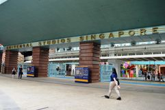 Universal Studios Singapore Stock Photography