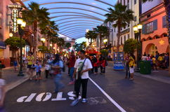 Universal Studios Singapore Hollywood Boulevard Royalty Free Stock Image