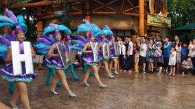 Universal Studios Singapore Hollywood Parade Royalty Free Stock Image