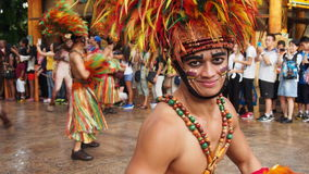 Universal Studios Singapore Parade Smiling Man Royalty Free Stock Photos