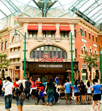 Universal Studios Singapore Royalty Free Stock Photos