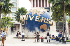 UNIVERSAL STUDIOS SINGAPORE Stock Photography