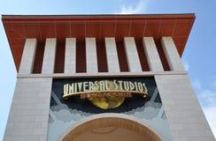 Universal Studios Singapore sign Stock Photography