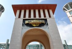 Universal Studios Singapore signage Stock Photos