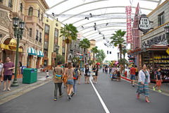 Universal Studios Singapur Stockfotos