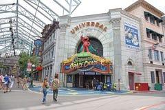 Universal Studios Singapur Stockfoto