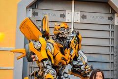 Universal studios transformer Royalty Free Stock Photography