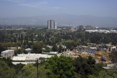 Universal sudio. Panorama on one of the studios in hollywood - universal studio Stock Photography