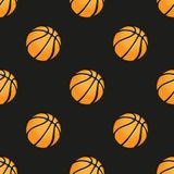 Universal vector basketball seamless patterns Stock Photo