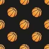 Universal vector basketball seamless patterns Stock Photo