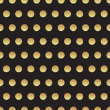 Universal vector black and gold seamless pattern, tiling. Stock Image