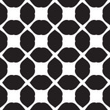 Universal vector black and white seamless pattern (tiling). Royalty Free Stock Photo