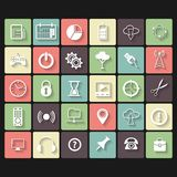 Universal Vector Flat Icons Stock Photos