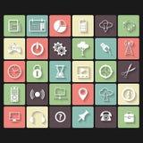 Universal Vector Flat Icons Stock Photos