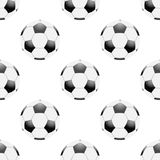 Universal vector football seamless patterns tiling Royalty Free Stock Image