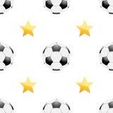 Universal vector football seamless patterns tiling Stock Photo