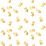 Universal vector seamless patterns tiling. Finance Royalty Free Stock Photography