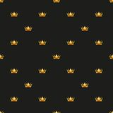 Universal vector seamless patterns tiling. Royal Royalty Free Stock Photography