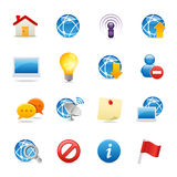 Universal Web icons 4 Stock Images