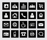 Universal Web Icons Royalty Free Stock Photography