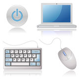 Universal Web Icons - Computers Stock Image