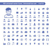 Universal web icons Royalty Free Stock Photo