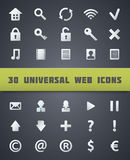 Universal Web Icons. Royalty Free Stock Images