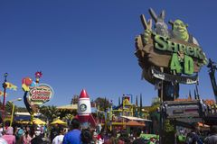 Universale Studio_Shrek di Los Angeles Fotografie Stock