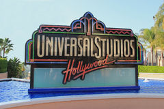 universalhollywood studior arkivbilder
