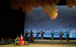 """Universally condemned-Shanxi Operatic""""Fu Shan to Beijing"""" Royalty Free Stock Photography"""
