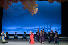 """Universally condemned-Shanxi Operatic""""Fu Shan to Beijing"""" Stock Images"""