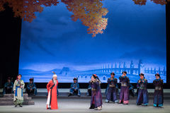 """Universally condemned-Shanxi Operatic""""Fu Shan to Beijing"""" Stock Photography"""