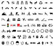 universalpictograms vektor illustrationer